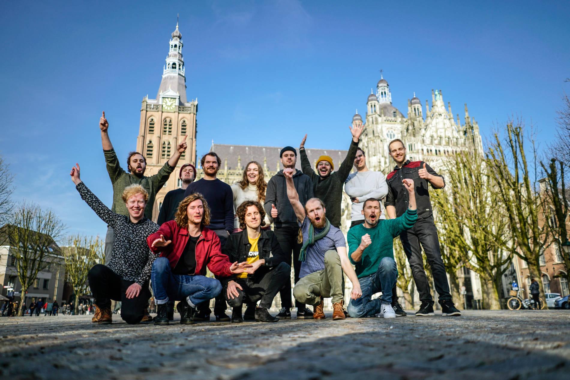 Teamfoto - Muziekles Den Bosch - 's Hertogenbosch