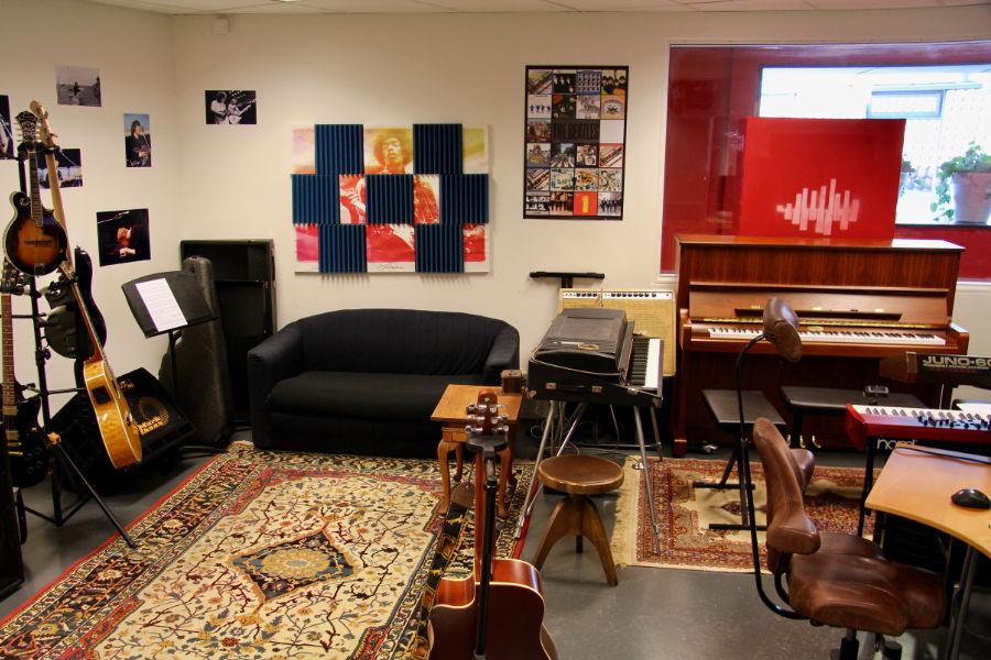 Onze Visie onze muziekstudio - Muziekles Den Bosch - 's Hertogenbosch